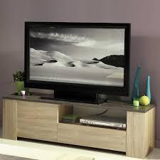 pharao24 wohnzimmer tv wand in sonoma eiche grau stein optik