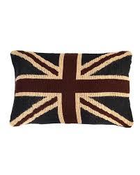 Jacquard Union Jack Cushion Cover British Flag Tapestry