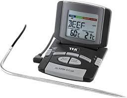 tfa dostmann digitales bratenthermometer kontrolle der kerntemperatur fleischthermometer haushaltsthermometer perfekt gebratenes fleisch geflügel
