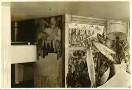 Diego Rivera Rockefeller Mural by Sert El único Pintor Que Se Atrevió A Cubrir El Mural De Diego Rivera
