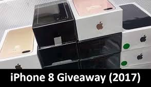 Free iPhone 8 Giveaway The Best fer on the Web Today