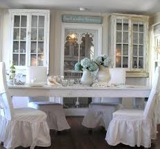 Country Chic Dining Room Ideas by White Shabby Chic Dining Table And Chairs Shabby Chic Dining