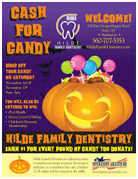 Donate Leftover Halloween Candy To Our Troops by Hilde Family Dentistry Google