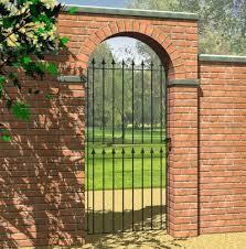 Grange Montford Spear Top Metal Garden Gates