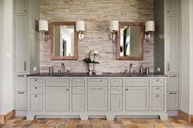 Restoration Hardware Bathroom Vanities by Gray Bathroom Vanity Bathroom Rustic With Double Bathroom Sink
