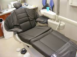 Dental Chair Upholstery Service by Vinyl Crafters Reupholstery Covers For Healthcare Fitness