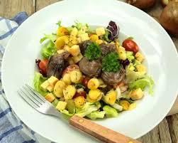 sud ouest cuisine recette salade de pommes de terre à la mode du sud ouest