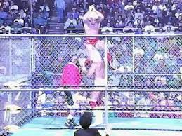 Halloween Havoc 1996 Outsiders by Sting Randy Savage U0026 Lex Luger Vs The Outsiders Bash At The