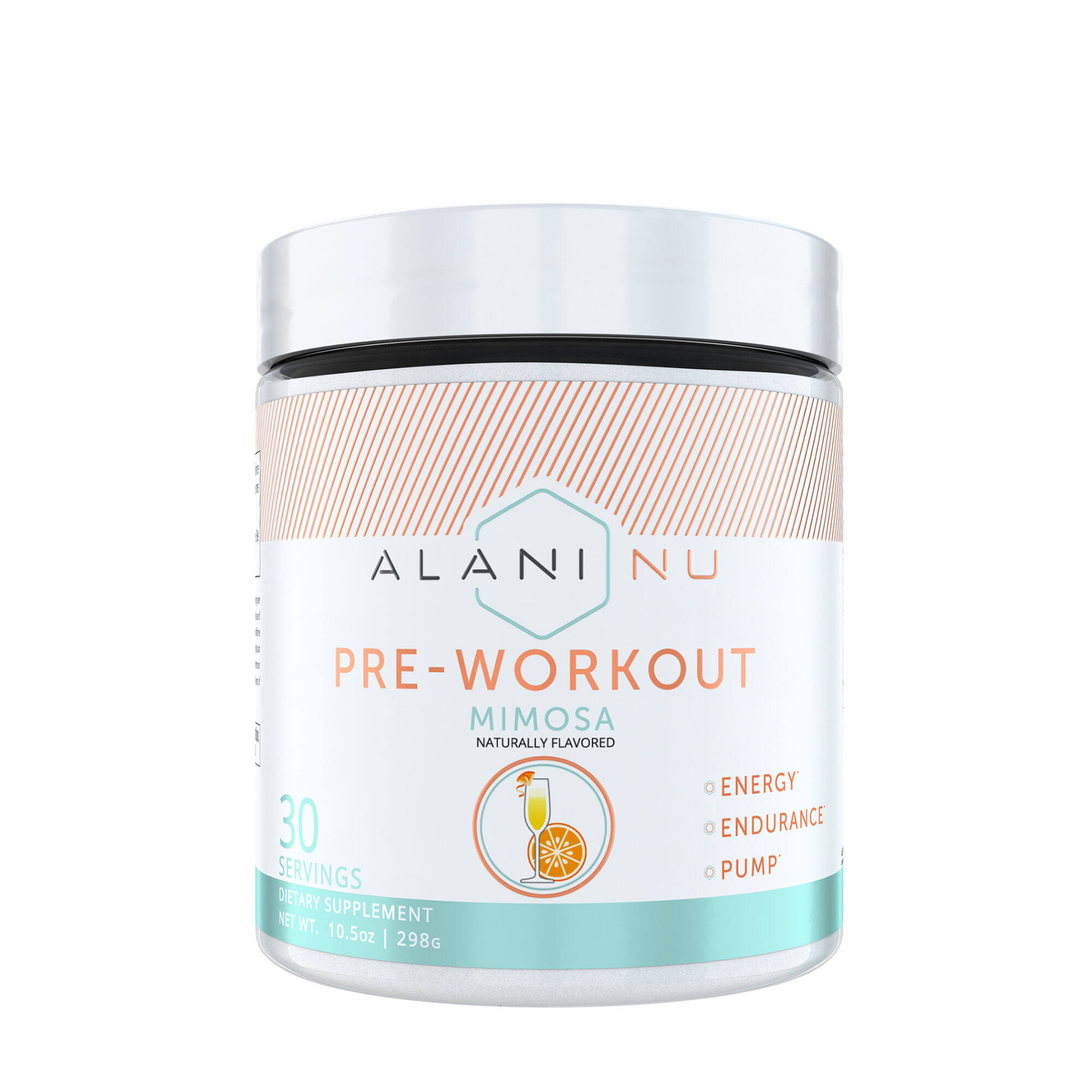 Alani Nu Pre Workout Dietary Supplement - 30 Servings