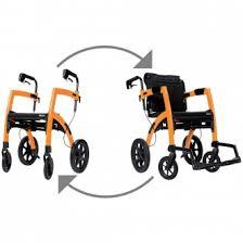 Transport Chair Or Wheelchair by Rollz Rolling Walker U0026 Transport Wheelchair All In One