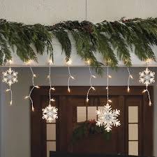 Snowflakes String Lights