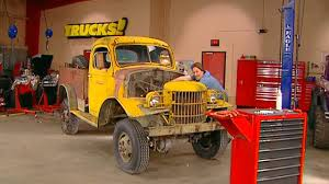 100 Stacey David Trucks Turning A 1941 Dodge Army Truck Into Sergeant Rock