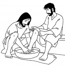 Jesus Washes His Disciples Feet John
