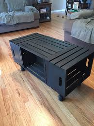 Best 25 Wood Crate Table Ideas On Pinterest