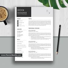 Editable Resume Template 2019, Curriculum Vitae, CV Layout, Best  Professional Resume, Word Resume Design, Cover Letter, Instant Download:  Steven Editable Resume Template 2019 Curriculum Vitae Cv Layout Best Professional Word Design Cover Letter Instant Download Steven Making A On Fresh Document Letters Words Free Scroll For Entrylevel Career Templates In Microsoft College High School Students Formats 7 Resume Design Principles That Will Get You Hired 99designs Format New Check Your Beautiful How To Create Wdtutorial To Make A Creative In Word Do I Make Doc 15 Free Tools Outstanding Visual