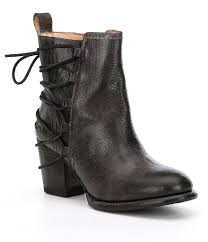 bed stu blaire lace up booties dillards