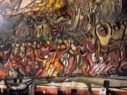 panoramio photo of mural poliforum david alfaro siqueiros