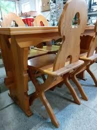 tisch stühle esstisch bauernmöbel esszimmer kiefer möbel