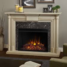 Decor Flame Infrared Electric Stove by Real Flame Freestanding Electric Fireplaces Electric