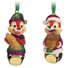 Chip N Dale Bell Ornament Set ShopDisney