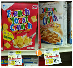 General Mills French Toast Crunch Cereals As Low As $0.10 At Weis ... Sonic Deal 099 French Toast Sticks Details Bread Stamper Boys Mesh Pullover Top Crunch Cereal 111 Oz Box School Uniforms Starting At Just 899 Costco Hip2save Homemade Casserole The Budget Diet Frenchs Coupons 2018 Black Friday Deals Uk Game Toast Clothing Brand Wwwcarrentalscom Maple Breakfast Cinnamon 2475 2count Uniform Pants Bark Shop