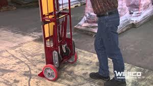 100 Wesco Folding Hand Truck Heavy Duty Appliance YouTube