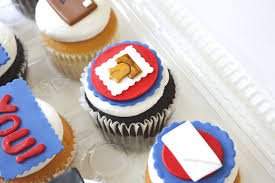 More Post Office Inspired Cupcakes