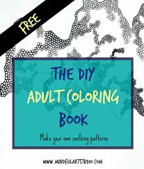 The DIY Adult Coloring Book