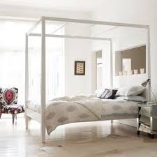 Clean Lines Four Poster Bed Loft Bedroom