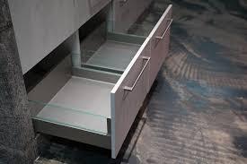 ballerina designküche y form küche mit halbinsel und wandschrank in grau
