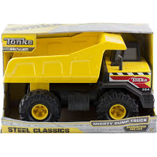 Tonka Steel Classics Mighty Dump Truck Construction Toy | EBay Tonka Steel Classics Mighty Dump Truck 1874196098 Used Commercial Dump Trucks For Sale Or Small In Nc As Well Truck Buy Steel Classic Toughest Amazon Vehicle Only 20 Turbo Diesel 3901 93918 Christmas Gift Ideas 1 Listing Upc 021664939185 Model Tonka Dump Truck 354 Huge 57177742 Front Loader And Classic Mighty In Ffp