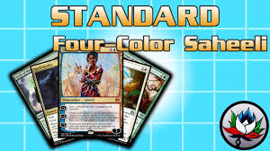 artifact deck mtg 2017 mtg new four color saheeli combo standard deck tech for magic