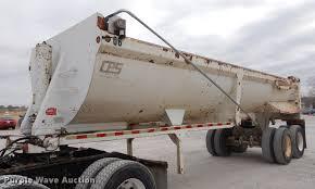 100 End Dump Truck 2000 CPS End Dump Trailer Item EJ9874 SOLD April 26 Tru