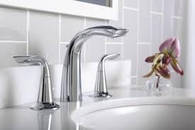 Kohler Stillness Bathroom Faucet by Kohler K 5317 4 Cp Refinia Widespread Lavatory Faucet Polished