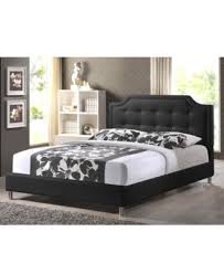 Macys Upholstered Headboards by Ashima Modern King Bed With Upholstered Headboard Quick Ship