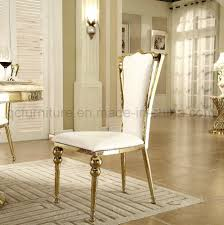 [Hot Item] High Back Stainless Steel Golden Metal White PU Dining Chairs Designer Green Ding Chair On Black Metal Legs Modern Soft Us 4896 28 Offfashion Classic Stainless Steelleather Chairsliving Room Chairblack White Metal Leather Fniturein Ding Giantex Set Of 4 Chairs Pvc Iron Frame High Back Home Fniture White New Hw59220 Callisto And Steel Cantilever Chair Distressed Antique 2 Angelina Wood Lexi Pair Gold Linen Fabric Tolix Style Industrial Room Y120 White Ding Chair Chrome Metal Base By Grako Selections Buschman Matte Inoutdoor Stackable Tig In 2019 Giselle