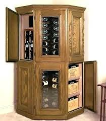 Corner Wine Rack Furniture Home Cabinet