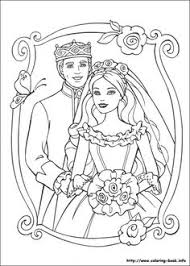 Barbie As The Princess And Pauper Coloring Picture Wedding PagesPrintable SheetsBarbie