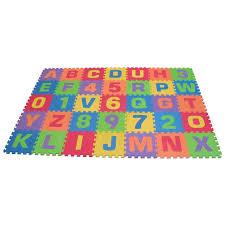 Amazon Edushape Edu Tiles Letters & Numbers Play Mat 36