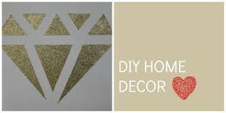 Flossy Diy Home Decor Glitter Candle Canvas Wall