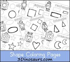 Download Shape Coloring Pages Looking For Additional Ideas Check Out My Pinterest Board