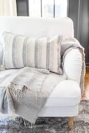New Slipcovers For The IKEA Living Room Furniture - Bless'er ... Fniture Ikea Slipcovers To Give Your Room Fresh New Look The Dense Cotton Ektorp Chair Cover Replacement Is Custom Made For Ikea Armchair A One Seat Sofa Slipcover Heavy Nyc Apartment Autumn Design Updates Bemz Sderhamn My Honest Review Of Ikeas And Ektorp Cover Lofallet Beige Why I Love White Slipcovered Ding Chairs House Full Tullsta Nordvalla Medium Grey Liz Marie Blog Sparkles Im Back Sharing Another Favorite Today Oh My Goodness