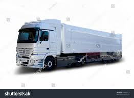 100 Mercedes Semi Truck Silver Benz Stock Photo Edit Now 16892323