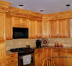 a creative way to disguise ugly kitchen soffits diy ideas