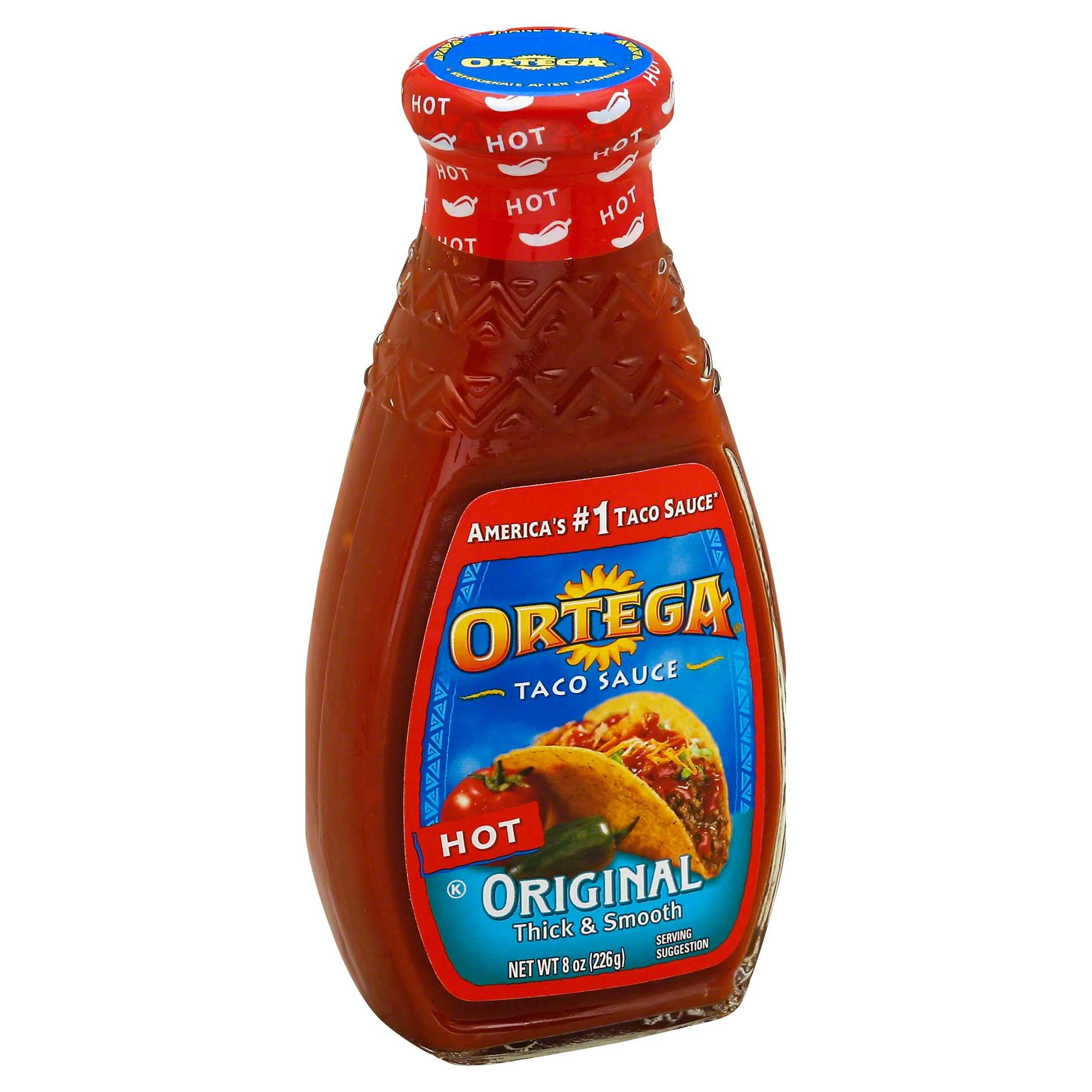 Ortega Taco Hot Sauce - 8oz