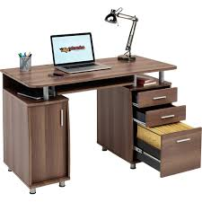Techni Mobili Desk W Retractable Table by Computer Desk With Storage U0026 A4 Filing Drawer Home Office