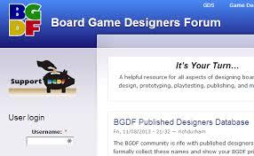 Board Game Designers Forum