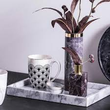 vase in marmoroptik depot living at home