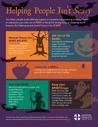 Scary Things To Do On Halloween by Mentalhealthfirstaid On Twitter
