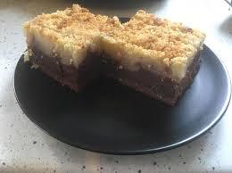 schoko birnen blechkuchen mit streusel